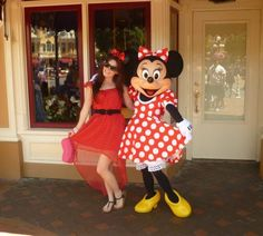 Twins! Me and Minnie Mouse Disneybound!