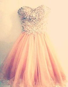 Blush Pink Short Prom Gown Lovely Ball Gown Beaded Tight Bodice Homecoming Dresses Sparkly Cocktails sold by Dresscomeon. Shop more products from Dresscomeon on Storenvy, the home of independent small businesses all over the world. 15 Dresses, Trendy Dresses, Cute Dresses, Beautiful Dresses, Casual Dresses, Short Dresses, Formal Dresses, Tight Dresses, Beaded Dresses