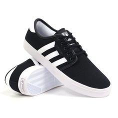 Discount Best price adidas Skateboarding Men's Seeley Black/White/Black (Canvas) 10.5 D - Medium - http://brazilequipment.com/best-price-adidas-skateboarding-mens-seeley-blackwhiteblack-canvas-10-5-d-medium/