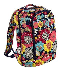 Laptop Backpack; Vera Bradley's backpacks are super cute. Of course, as long as the pattern has blues and greens.
