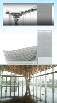 A Daily Dose of Architecture: AE6: Undulating Roof/Column