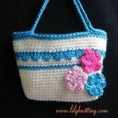Crochet Purse Patterns | Free Crochet Patterns: Bubble Gum Purse Crochet Pattern for