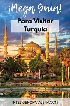 Viajar a Turquía: qué ver en el circuito turístico más famoso de este país. Capadocia, Pamukkale, Kaş, Estambul y Éfeso Eurotrip, Places To Travel, Places To Visit, Pamukkale, Eastern Europe, Travel Guides, Travel Inspiration, The Good Place, Taj Mahal