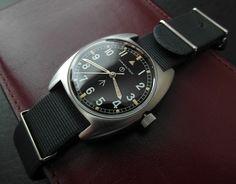 Someone buy this! TimeZone: Sales Corner: FS: Vintage HAMILTON W10 British Military Broad Arrow