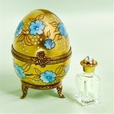 Limoges Perfume Chests with Bottles The Cottage Shop