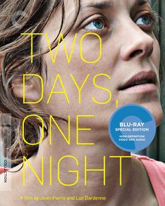 Two Days, One Night - Blu-Ray (Criterion Region A) Release Date: August 25, 2015 (Amazon U.S)