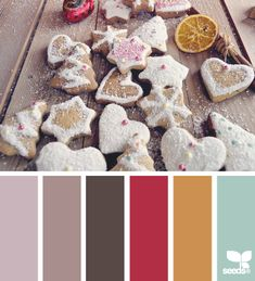 color cookies - color palette from Design Seeds Colour Pallette, Colour Schemes, Color Combos, Color Patterns, Design Seeds, Coordination Des Couleurs, Paleta Pantone, Color Me Beautiful, Color Swatches