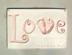 59 best ceramic handprint art images on pinterest