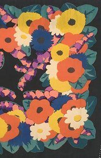 fleurs en aplat