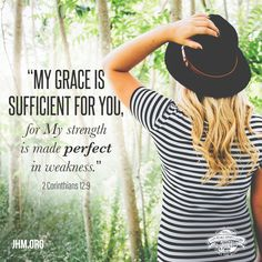 Take that trial that you're experiencing and bring it to the Lord. Lay it at His feet. Look to Him. Count on His grace and power in every situation. #Grace #Power #Perfect #Strength #Weakness #Faith #Truth