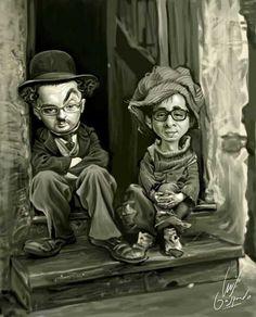Caricaturas graciosas de Andreu Buenafuente
