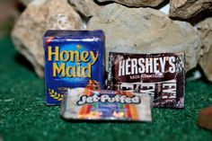 Miniature food smores doll house size groceries tiny by AbateArts, $4.00