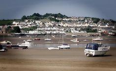 Stranded boats in a beautiful little village called Instow