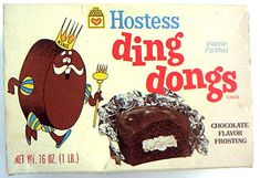 Original Ding Dongs were wrapped in foil.