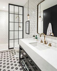 Industrial Bathroom Design. Industrial bathroom with antique brass fixtures…… Industrial Bathroom Design. Industrial bathroom with antique brass fixtures… http://www.wersdecor.website/2017/05/02/industrial-bathroom-design-industrial-bathroom-with-antique-brass-fixtures/