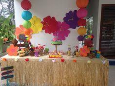 Fiesta Hawaiiana infantil