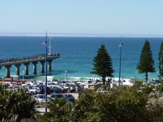 Beautiful beach in Port Elizabeth South Africa