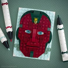 The Vision | Brick Sketch 37. | Chris McVeigh | Flickr