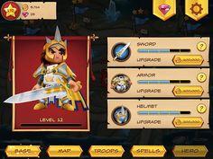 Royal Revolt! Profile & Avatar: screenshots, UI
