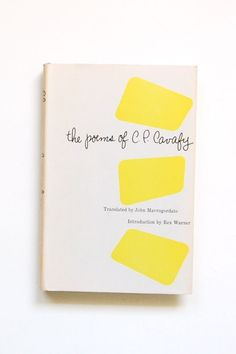 the poems by Cp Cavafy: