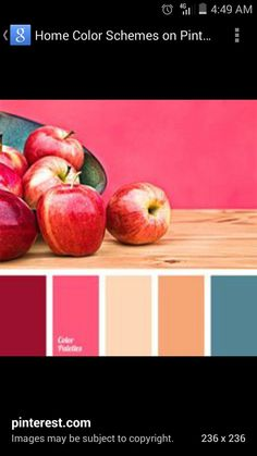 Color scheme. Floors are beige/peach/flesh tile. Hope this works for the living room.