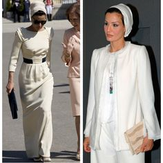 Sheikha Mozah bint Nasser Al Missned is the second of three wives to the former Emir of the State of Qatar