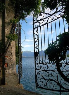 Gate to the Lake - Como, Lombardy, Italy