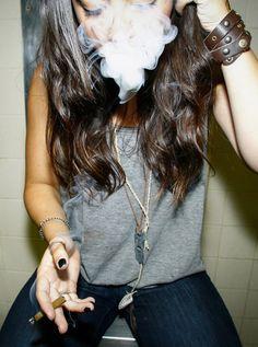 Stoner chick accessorized #weed #marijuana #cannabis