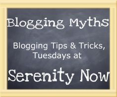 Serenity Now: Blogging Myth #1: If You Blog It, They Will Come