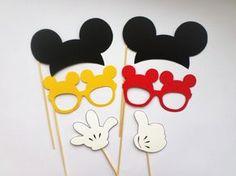 Foto Cabina apoyos foto Mickey Mouse cabina por PartyPhotoProps