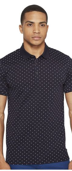 Scotch & Soda Polo in Mercerized Jersey Quality with Mini All Over Print (Combo A) Men's Clothing - Scotch & Soda, Polo in Mercerized Jersey Quality with Mini All Over Print, 136533-401, Apparel Top General, Top, Top, Apparel, Clothes Clothing, Gift - Outfit Ideas And Street Style 2017