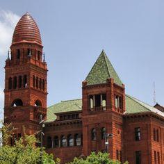 Bexar County Courthouse. Red sandstone. #UncontainedLife #ResponsibleTravel #WorldTravel #OneStepFurther #ExploreLocal #architecture #HistoricalBuildings #roadtrip #USA #Texas #SanAntonio #Travel http://ift.tt/1yoX0gX