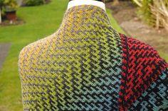 Dovetail Shawl by Judy Marples