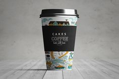 Free Paper Coffee Cup Mockup (62.6 MB) | By MassDream Studio on @dsgnresources…