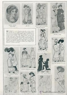 1910- Dibuixos de María Riera (Barcelona, 1893) Barcelona, Photo Wall, Frame, Leaves, Journals, Picture Frame, Photograph, Barcelona Spain, A Frame