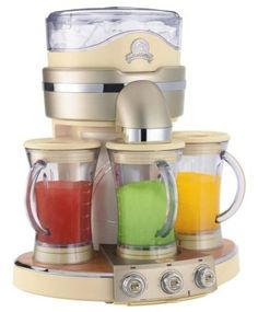 contemporary small kitchen appliances by Amazon  --> Would LOVE to have frozen smoothies!!!