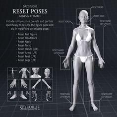 G3F Reset Poses by SpyroRue
