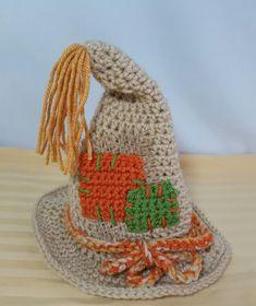 Crochet Scarecrow hat newborn Ready to Ship by CoziYarnOwl on Etsy Free Crochet, Knit Crochet, Crochet Hats, Scarecrow Hat, Braided Scarf, Flower Braids, Crochet Patterns, Hat Patterns, Crochet Ideas