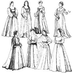 Amazon Drygoods - Women's Italian Renaissance Gowns, $19.95 (http://www.amazondrygoods.com/products/womens-italian-renaissance-gowns.html)