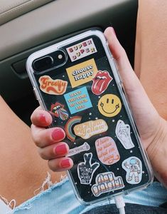 Vsco - mscotty - collection etui telephone, phone stickers, new phones, diy phone Diy Iphone Case, Iphone Plus, Iphone Phone Cases, Phone Covers, Cellphone Case, Black Iphone 7 Plus, Tumblr Phone Case, Girl Phone Cases, Cute Phone Cases
