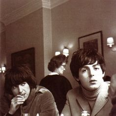 The Beatles: George Harrison and Paul McCartney