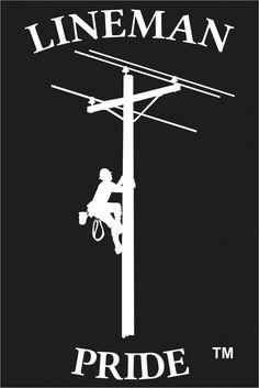 When I get older I am going to become a lineman. Lineman Love, Lineman Gifts, Power Lineman, Electrical Lineman, Journeyman Lineman, Shirt Makeover, Skull Art, Vinyl Art, Bumper Stickers