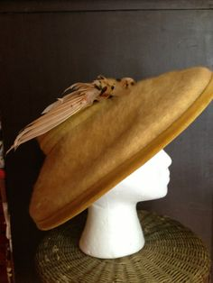 50's Soft Felt Hat by RagaliciousVintage on Etsy, $42.00