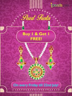 Jpearls is proud to present the Pearl Fiesta offer! Login to www.jpearls.com to check out more details!