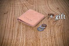 Mens leather wallet Mens leather bifold Mens wallet slim