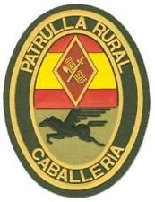 SPAIN GUARDIA CIVIL RURAL PATROL MOUNTED UNIT POLICE PATCH