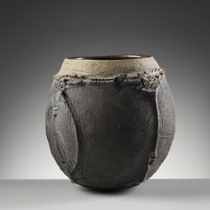 Patricia Shone Ceramics, Isle of Skye, Saggar Fired Stoneware