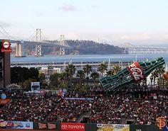 Bay Bridge Series Fans. Best fans in the MLB #SFGiants