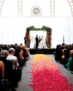 "See the ""Over the Rainbow"" in our Hanna and Bret's Colorful Seattle Wedding gallery"