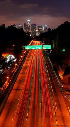 Accepting the good with the bad. Highway to Hell, Los Angeles | California (by Mac Danzig Photography)